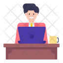 Office Employee Icon