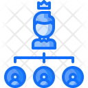 Hierarchy Office Boss Icon