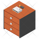 Office Internet Hotspot Router Icon
