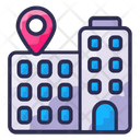 Business Location Office Icon