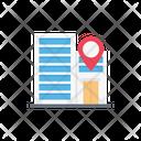 Location Building Map Icon