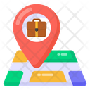 Business Location Office Location Office Navigation Icon