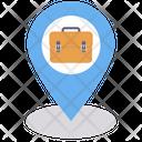 Office Location Job Location Location Time Icon