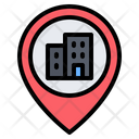 Office Location Building Office Icon