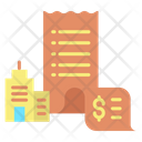 Office Payment Office Rent Payment Office Building Icon