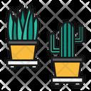 Office Plants Interior Icon