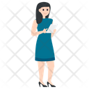Office Secretary Avatar Icon