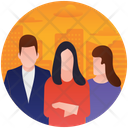 Office Staff Professional Staff Employees Icon