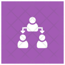 Office Structure Leader Management Icon