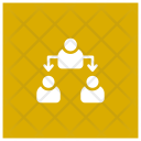 Office Structure Group Management Icon