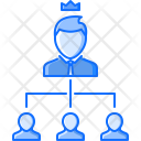 Office Structure Hierarchy Icon