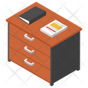 Office Table Office Files Official Drawer Icon