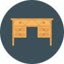 Table Desk Wooden Icon