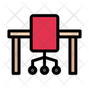 Office Chair Table Icon