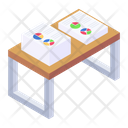 Office Table Office Rack Office Furniture Icon