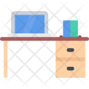 Office Table Desk Icon