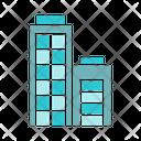 Office Tower Edifice Estate Icon