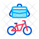 Office Transportation Bicycle Icon