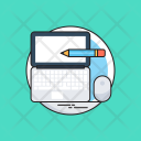 Office Work Pencil Icon