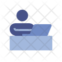 Office Work Customer Icon