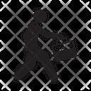Office Worker Employee Stick Figure Icon