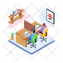 Working Persons Office Workers Staff Icon