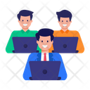Workplace Team Office Employees Icon