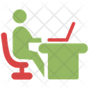 Office Working Employee Office Icon
