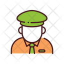 Officer Guard Watchman Icon