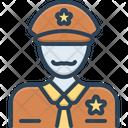 Officer Commissary Bureaucrat Icon