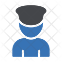 Officer Man Police Icon