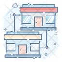 Offices Building Commercial Building Department Icon