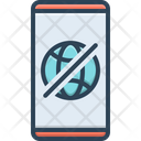 Offline Connection Technology Icon