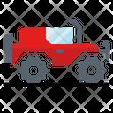 Four Wheel Drive Icon