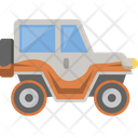 Car Jeep Offroad Icon