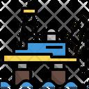 Offshore Platform Icon