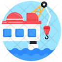 Sea Rig Offshore Drilling Offshore Rig Icon