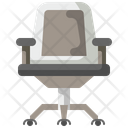 Ofice Chair Armchair Furniture Icon