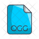 Ogg Audio File Icon