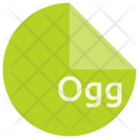 Ogg File Format Icon