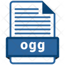 Ogg File Formats Icon