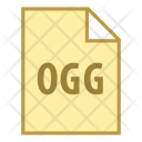 Ogg File Extension Icon