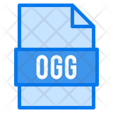 Ogg File File Types Icon