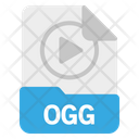 File Ogg Format Icon
