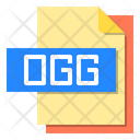 Ogg File Format Type Icon