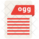 Ogg Format Document Icon