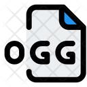 Ogg File Audio File Audio Format Icon