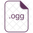 Ogg File Document Icon