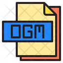 Ogm File Format Type Icon