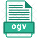 Ogv File Format Icon